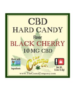 The Canna Company CBD Hard Candy Black Cherry