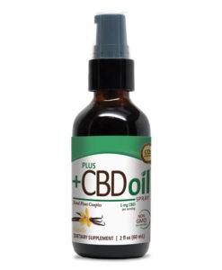 PlusCBD Oil Spray - Vanilla 200mg