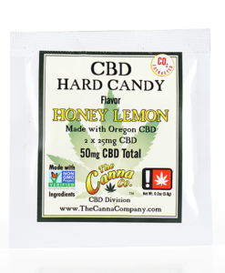 Honey Lemon CBD Hard Candy